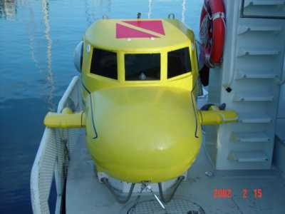 YachtSub Submersibles -  Personal Submarine - Private Yacht Sub